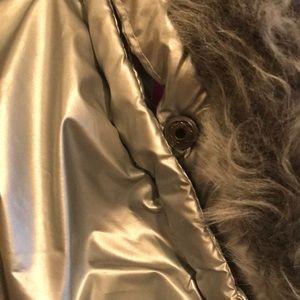 Weatherproof Jackets & Coats - Winter silver puffer coat